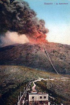 Postcards of the Past - Vesuvius