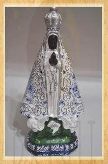 Estúdio Brigit - Livros Artesanais & Arte: Nossa Senhora Aparecida - Imagem  (Our Lady Aparec...