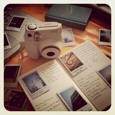 Polaroids may be old fashioned and low tech but they are so much fun.