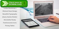 [ThemeForest]Free nulled download Simplr   Bootstrap 3 Responsive Landing Page from http://zippyfile.download/f.php?id=30176 Tags: clean, corporate, designedbydash, jquery, landing page, minimal, modern, newsletter, simplr