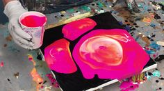 Control the chaos and improve the composition of your pour painting by using this simple technique.