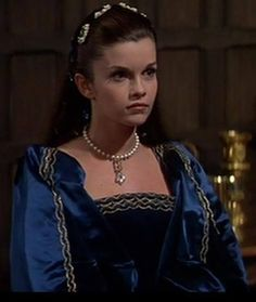 ann boleyn's blue dress in anne of the thousand days | Genevieve B. | Anne Boleyn - Anne of a Thousand Days