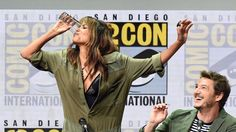 Halle Berry Just Chugged A Pint Of Whiskey At San Diego Comic-Con #FansnStars