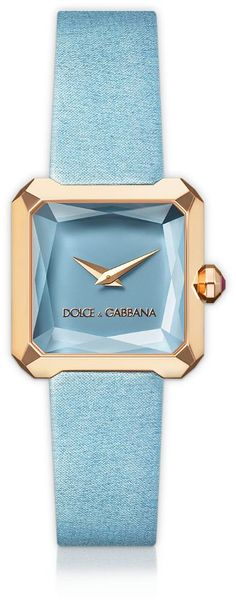 Dolce Gabbana watch baby blue - Tap the link now to see where you can find the top trending items for your own fly! Mode Orange, Gold Watches Women, Ladies Watches, Himmelblau, Beautiful Watches, Luxury Watches, Fashion Watches, Women's Fashion, Cool Watches