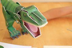Book Proposal: Διαβάζω και Συναρμολογώ - Τρομερός Τ-Ρεξ  #book #kid #productreview #dinosaur #bookproposal