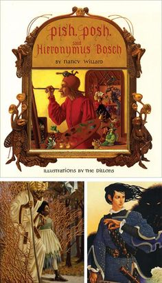 book cover illustrations by Leo & Diane Dillon