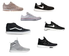Brand Name Sneakers for Women Under $50 #sneakers #style #sneakerhead #chicksinkicks #reebok #nike #vans #puma