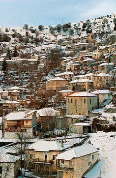 Magouliana__the highest village in the Peloponnese (alt. 1357), Arcadia, Greece