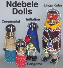 The Sangoma doll represents a revered protector of society and is known for her good judgement. She is believed to be able to communicate wi...