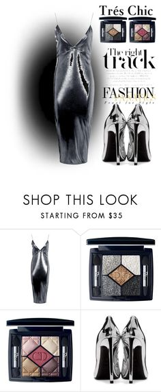 """""""One night special"""" by nurinur ❤ liked on Polyvore featuring Boohoo, Christian Dior and Yves Saint Laurent"""