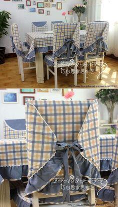 Шьем скатерти,чехлы на стулья (кухня).