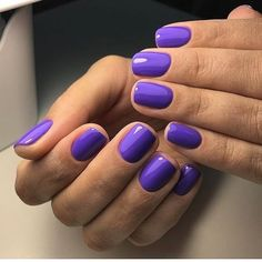 Violet Periwinkle is the IT color this spring. I love this ultra violet from A. in 2020 Violet Periwinkle is the IT color this spring. I love this ultra violet from A. in 2020 Violet Nails, Purple Nails, Periwinkle Nails, Sns Nails Colors, Cute Nail Colors, Solid Color Nails, Essie, Cute Nails, Pretty Nails