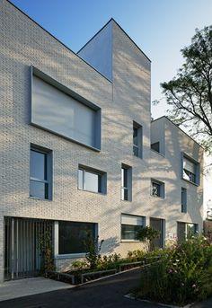 73 logements sociaux et un local d'activités, Stains, Atelier d'architecture Badia Berger - Realisation
