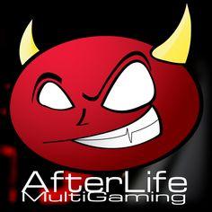 AfterLife MultiGaming || Több számítógépes játékkal játszó, kezdő de lelkes csapat logója.