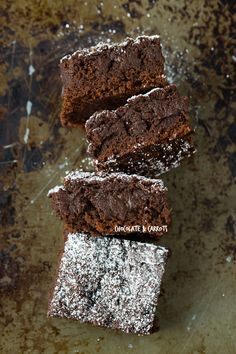 Vegan Date Brownies | will use a different flour and oil, but love the use of dates in this!