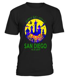 "# Happy Halloween Trick Or Treat San Diego California T Shirt .  Special Offer, not available in shops      Comes in a variety of styles and colours      Buy yours now before it is too late!      Secured payment via Visa / Mastercard / Amex / PayPal      How to place an order            Choose the model from the drop-down menu      Click on ""Buy it now""      Choose the size and the quantity      Add your delivery address and bank details      And that's it!      Tags: If you or someone live…"