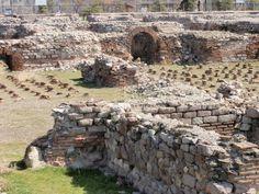 The Excavations of Roman Bath. Roma Hamamı kazıları. Ankara
