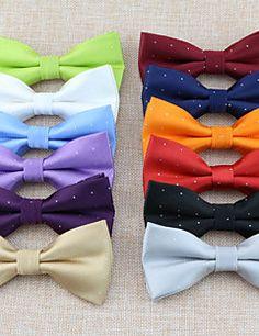 SKTEJOAN®Men's+Fashion+Wedding+Show+Double+Bow+Tie+–+USD+$+2.99