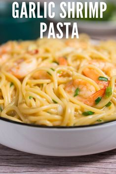 Shrimp Recipes 77442 EASY GARLIC SHRIMP PASTA RECIPES garlic shrimp pasta – An easy peasy pasta dish that's simple, flavorful and incredibly hearty. And all you need is 20 min to whip this up! Shrimp Recipes For Dinner, Shrimp Recipes Easy, Seafood Recipes, Cooking Recipes, Garlic Shrimp Recipes, All Recipes, Recipes Using Pasta, Easy Healthy Pasta Recipes, Healthy Pasta Dishes