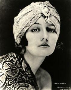Doris Kenyon in a Turban - Photo by Nickolas Muray (Hungarian-American, 1892-1965)