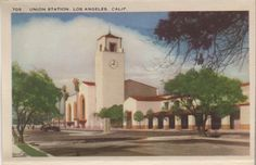 1940's L.A. postcard. From the Hagins collection.