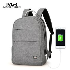 2018 Markryden New Arrivals Usb Recharging Anti thief Backpack Waterproof  Two Size Fashion Portable Bag -in Backpacks from Luggage   Bags on  Aliexpress.com ... d5f2e90966ed4