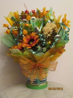 Candy bouquet by Ana