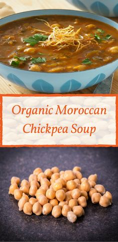 Looking for a quick and healthy meal? Our Organic Moroccan Chickpea Soup can be ready in under 30min!
