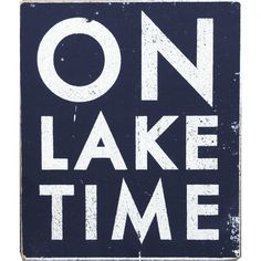 Go Jump in the Lake On Lake Time Wall Art | Pure Home. Cute wall décor for my parents new place.