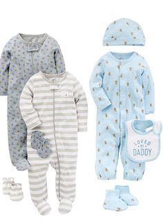 8e13ae8cf8 Simple Joys by Carter s Baby Boys  8-Piece Footed Take Me Home Set.