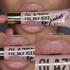 Glazed Lip Paint in Whisper Lagirlcosmetics!
