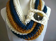 knitted unity scarf
