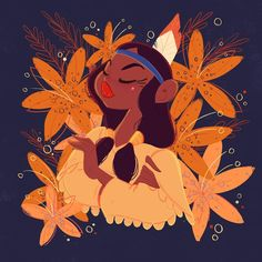 Tigerlily with some tiger lilys for Peter Pan day . Disney Songs, Disney Films, Disney And Dreamworks, Disney Cartoons, Disney Pixar, Disney Quotes, Walt Disney, Disney Characters, Tiger Lily Peter Pan