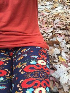 Loving these Lularoe leggings & Randy tee! #amyloveslula