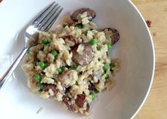 eat on Pinterest | Cashew Chicken, Kielbasa and Risotto