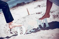 M&D on the beach!