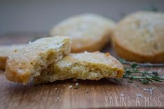 Parmesan shortbread! Super quick and easy cheese biscuit with a hint of cayenne pepper | Baking a Mess
