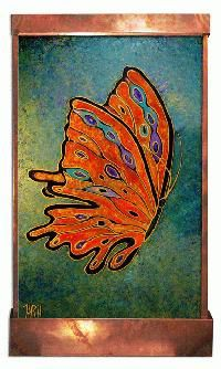 Butterfly Wall Fountain by HarveyGallery on Etsy, $1095.00