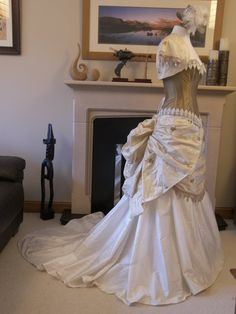 Steampunk Fairytale Wedding gown includes by Discombobulous