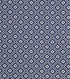 Home Decor Print Fabric-Eaton Square Population Sapphire at Joann.com
