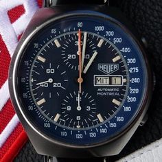 Montreal chronographs were powered by either the Caliber 12 movement or the Valjoux 7750 movement  Blue