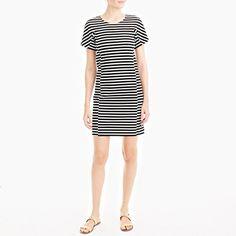 J.Crew+Factory+-+Striped+T-shirt+dress