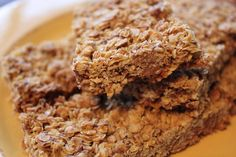 Crunchy Chocolate Chip Granola Bars