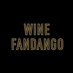 Custom logotype inspired by neon signs for Wine Fandango by graphic design studio Moruba.