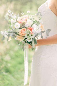 wedding flower arrangements for church pews Beach Wedding Flowers, Wedding Flower Arrangements, Bridal Flowers, Wedding Bouquets, Elegant Wedding, Boho Wedding, Perfect Wedding, Floral Bouquets, Real Weddings