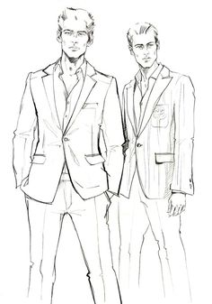 Fashion illustration sketches, man illustration, fashion design sketches, f Illustration Mode, Fashion Illustration Sketches, Fashion Sketchbook, Fashion Sketches, Moda Fashion, Men's Fashion, Trendy Fashion, Fashion Ideas, Fashion Shirts