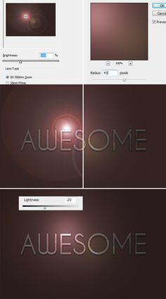 Metal Text Under 12 O'clock Spot Light « PsAwesome★ Awesome Photoshop Tutorials