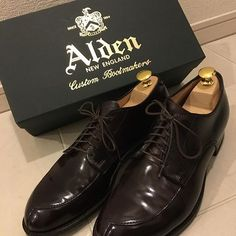 530cd1d02af 2017 03 31 22 53 22 mkn20161015   my shoes collection⑤  オールデン  alden   バーガンディ  コードバン  モディファイドラスト  伊勢丹  靴  メンズシューズ ...