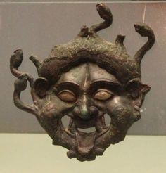 The Mask of Gorgon of Scythian
