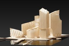 """Image 7 of 29 from gallery of """"Marievik Competition Entry / Louis Paillard Architects. Image Courtesy of Louis Paillard Architects Residence Senior, Paris Saclay, Maquette Architecture, Saint Ouen, Grand Paris, Master Plan, Skyscraper, Competition, Kitchens"""